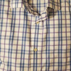 Banana Republic Slim Fit Men's Dress Shirt Large